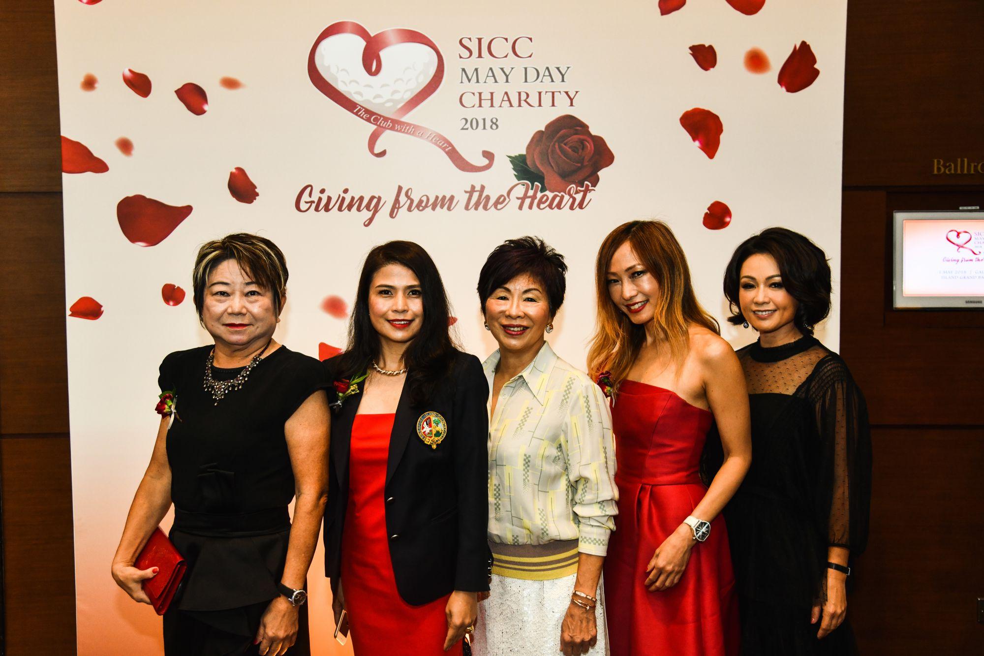 Jeannie Lau, Marilyn Lum, Chia Hwee Siang, Tan Min-Li, Vanessa Yeo