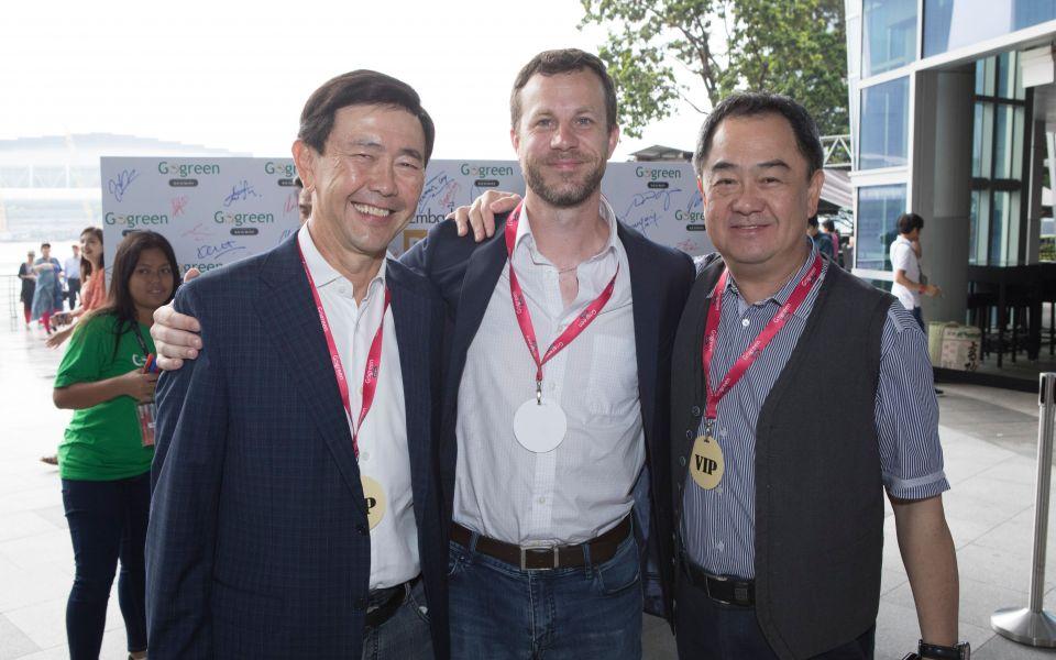 Arthur Tay, Matt McGuire, Gay Chee Cheong