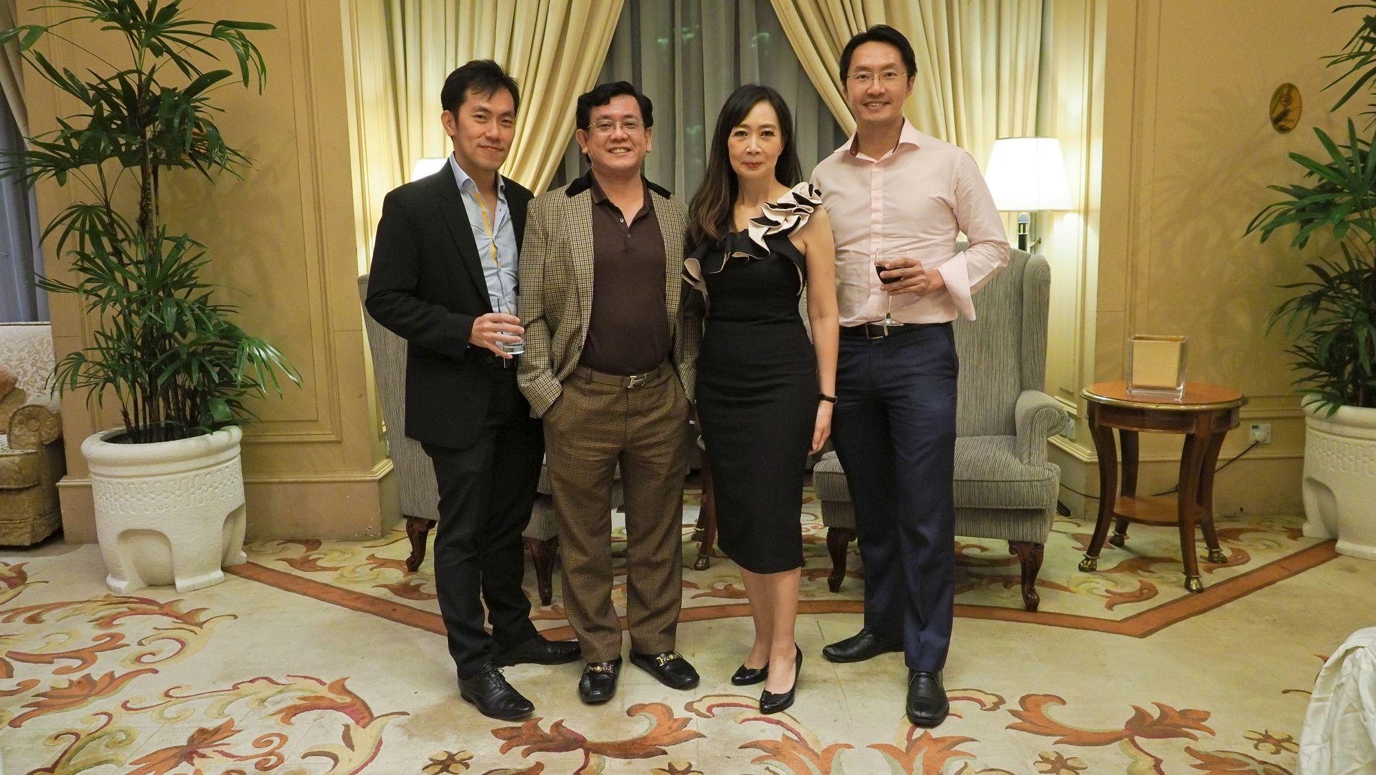 Sean Quek, Peter Tan Shou Yi, Irene SM Lee, Steven Yeah