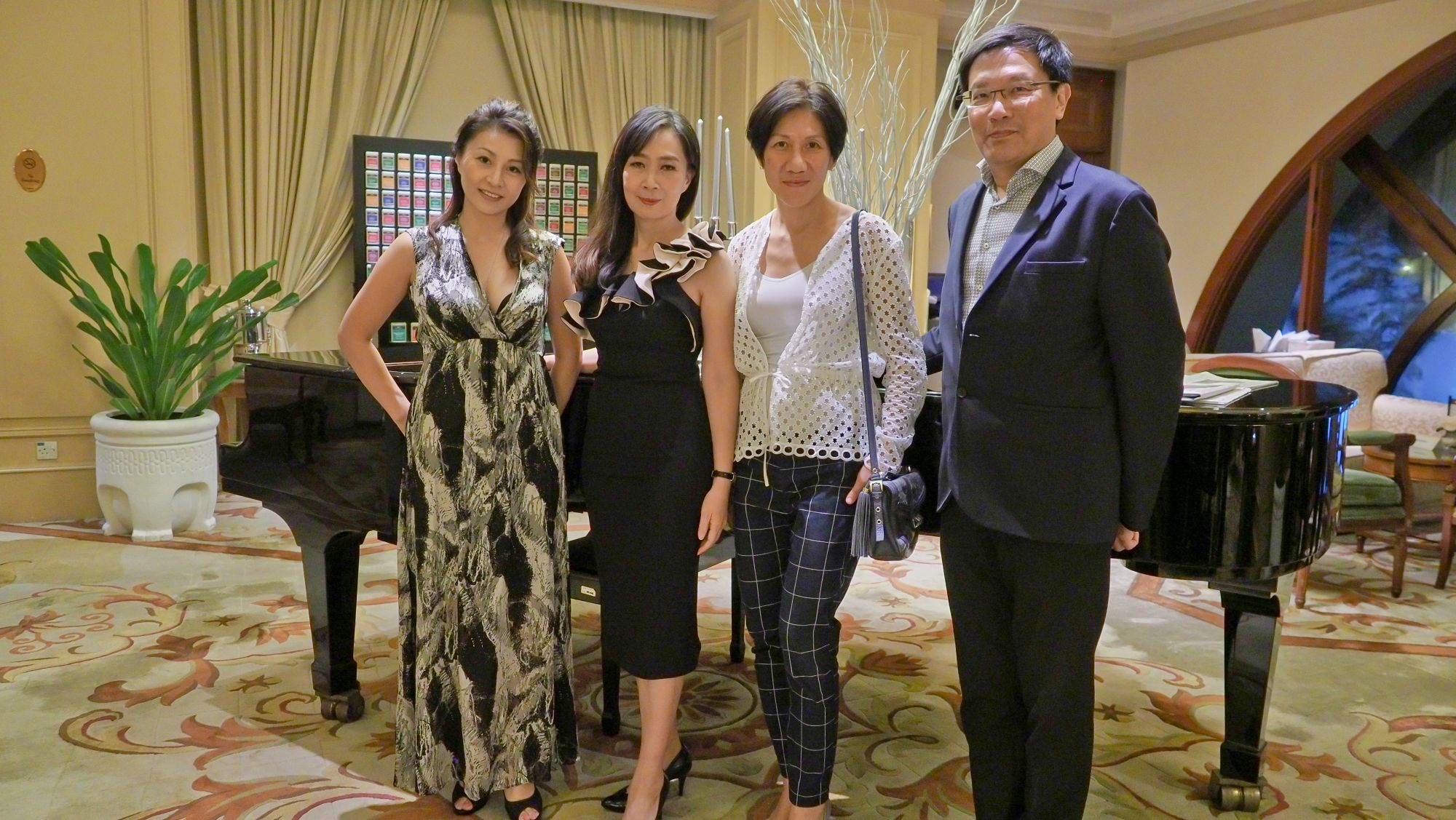 Hana Ohata, Irene SM Lee, Bridget Chen, CJ Kho