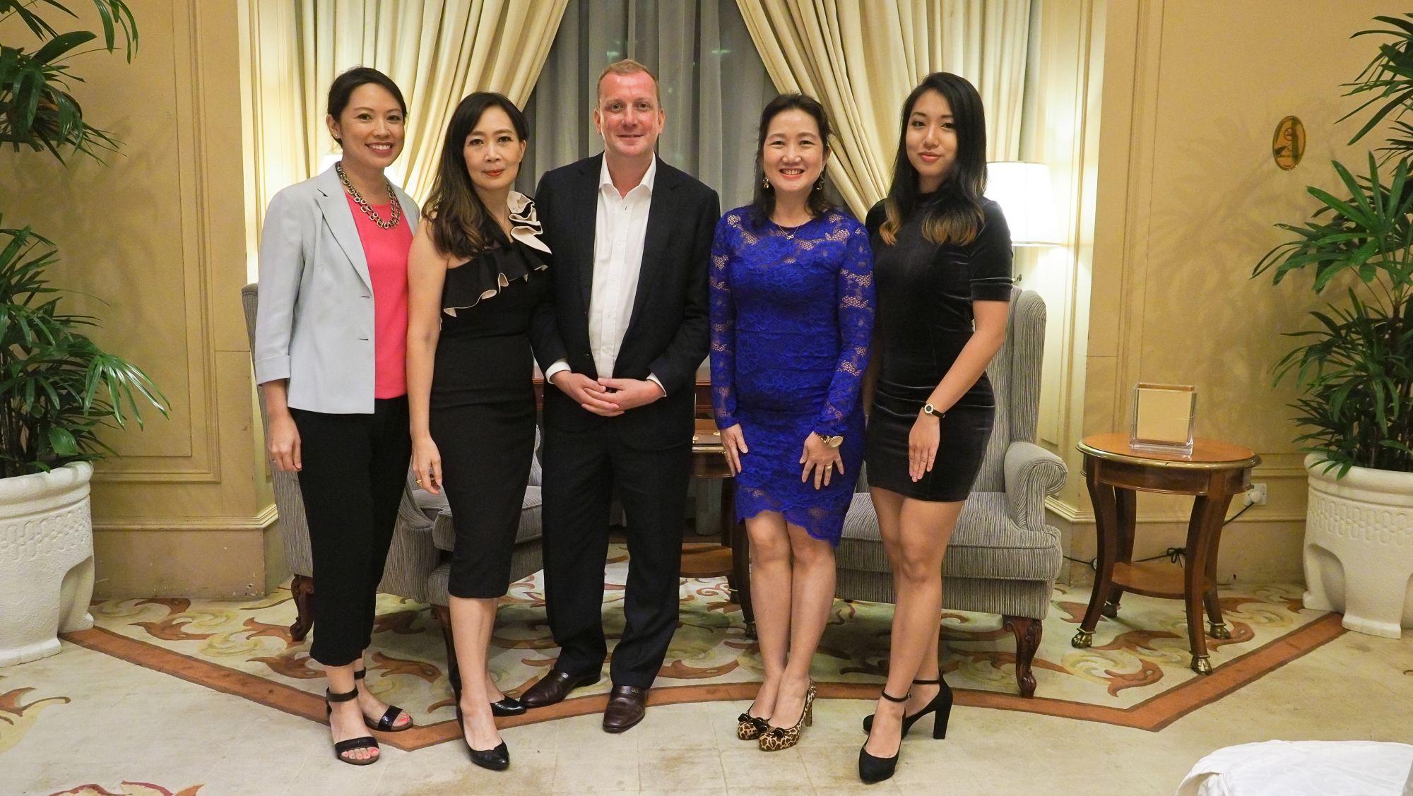 Lina Schindler, Irene SM Lee, Matthew Kasdin, Dawn Tam, Tammy Ho