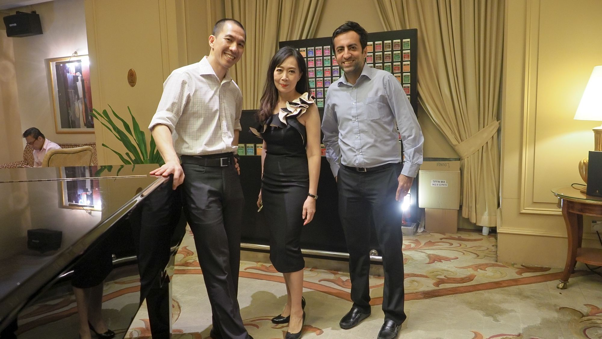 Lien Choong Luen, Irene SM Lee, Rahul Daswani