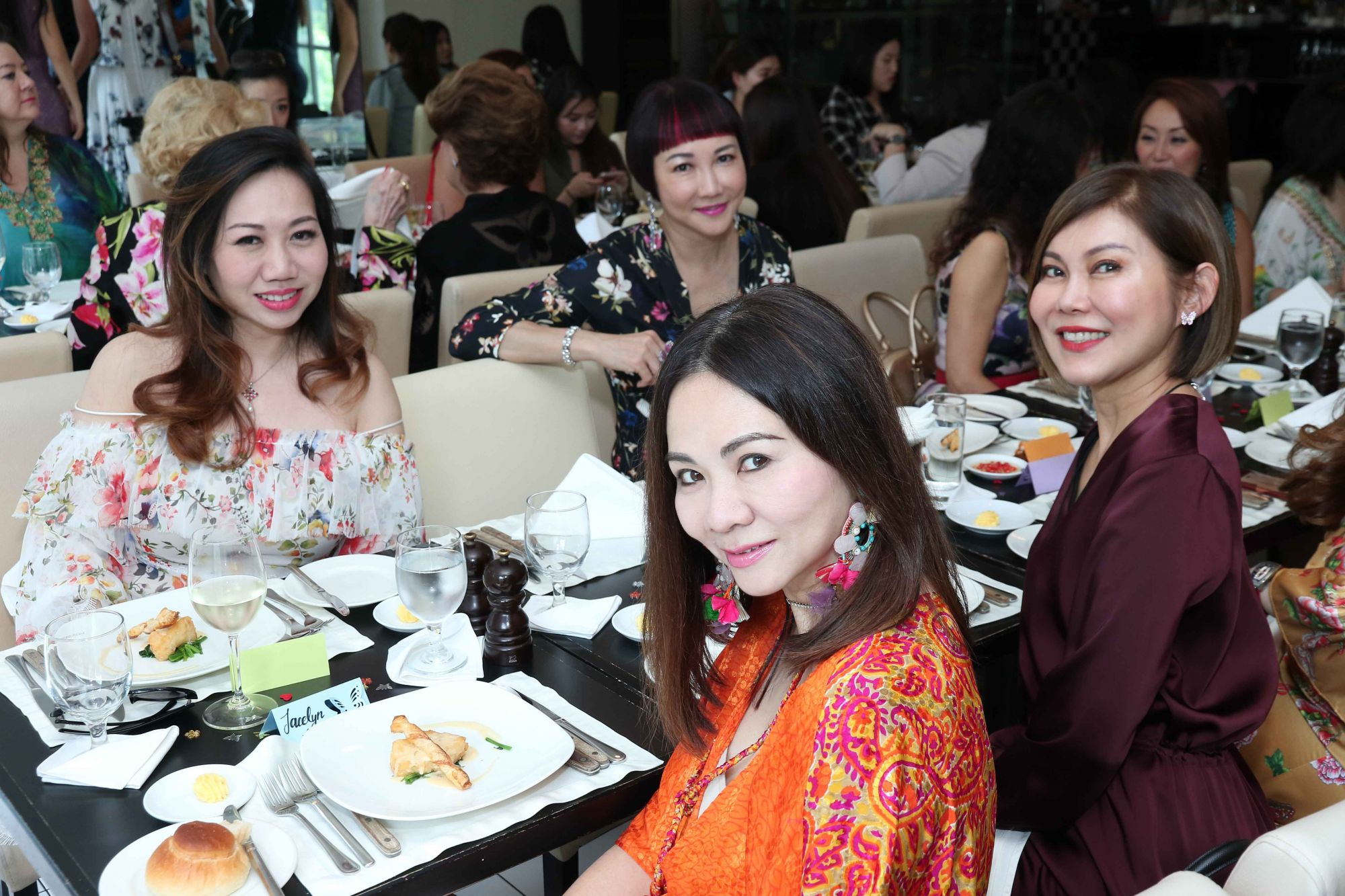 Adeline Quek, Frances Low, Jacelyn Lai, Sharon Lim