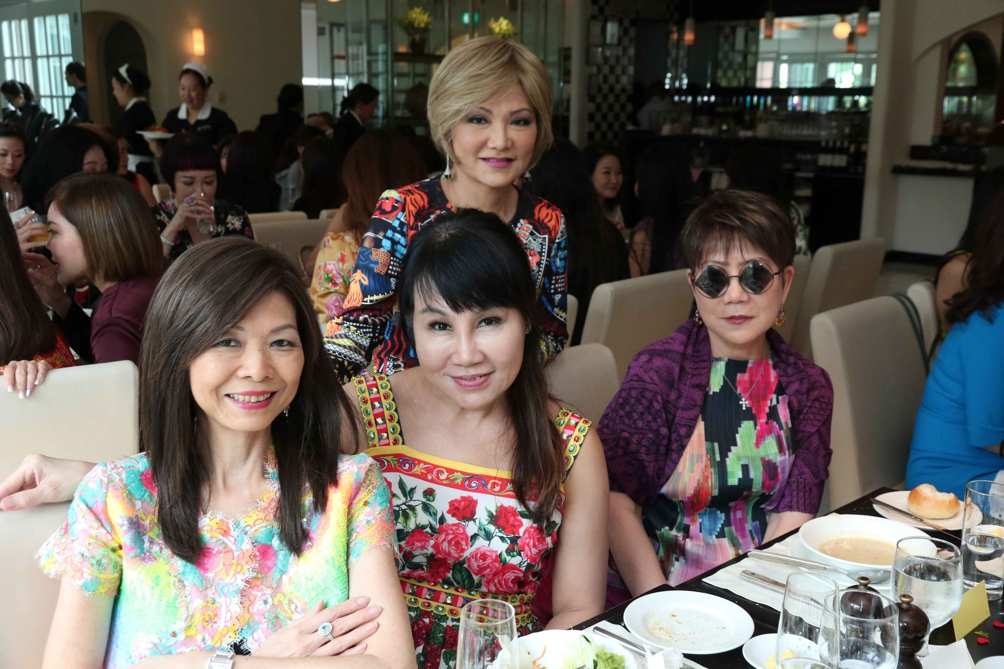 Dolly Cheong, Jessica Goh, Audrey Mico, Elizabeth Wong