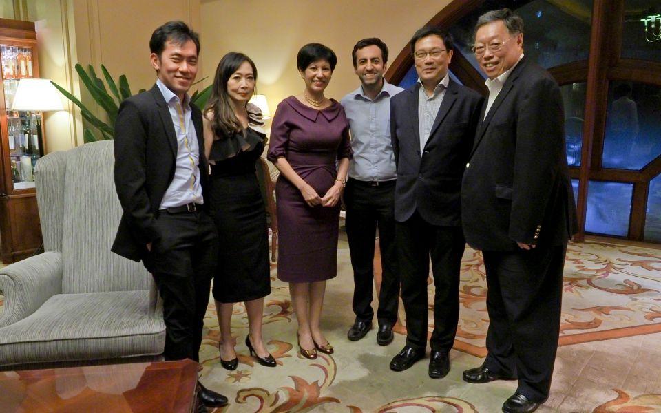 Sean Quek, Irene SM Lee, Indranee Rajah, Rahul Daswani, CJ Kho, Kim Seah Teck Kim