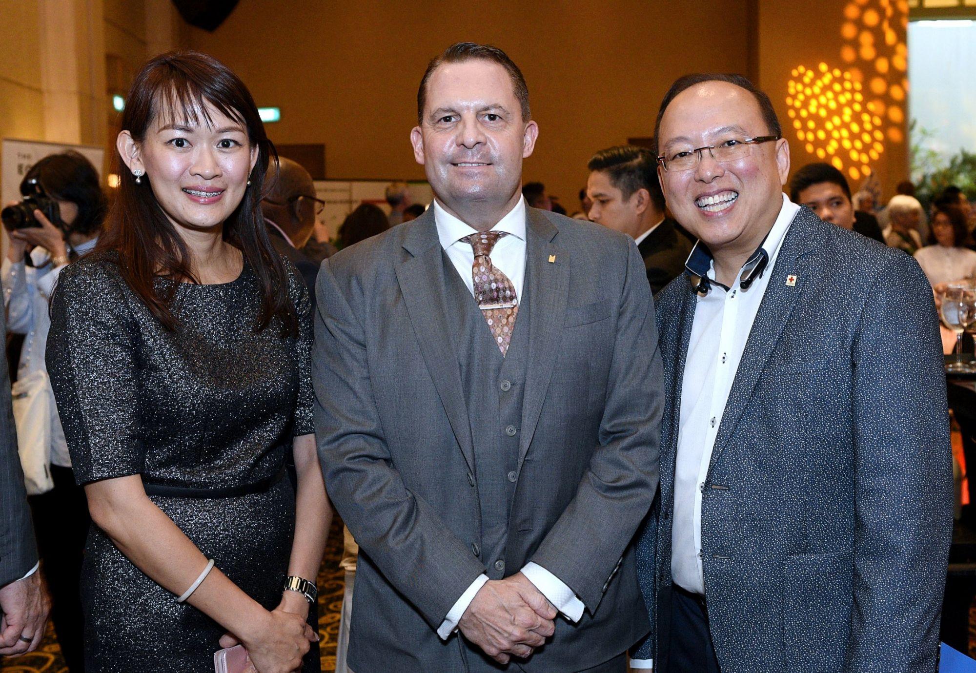 Molly Chong, Lee Richards, Adrian Lim
