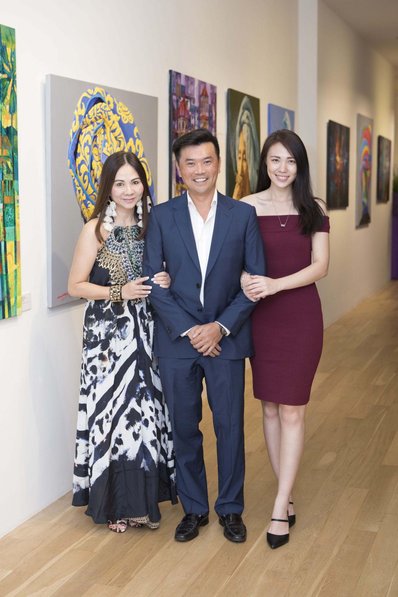Jacelyn Lai, Gerald Lee, Jasmine Foo