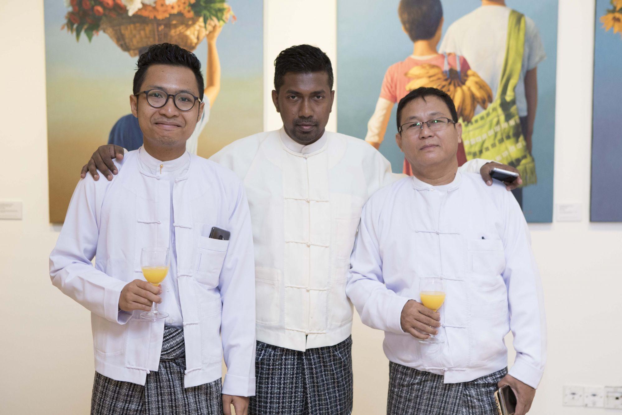 Ngwe Phyoe, Zin Min, Ngwe Aung