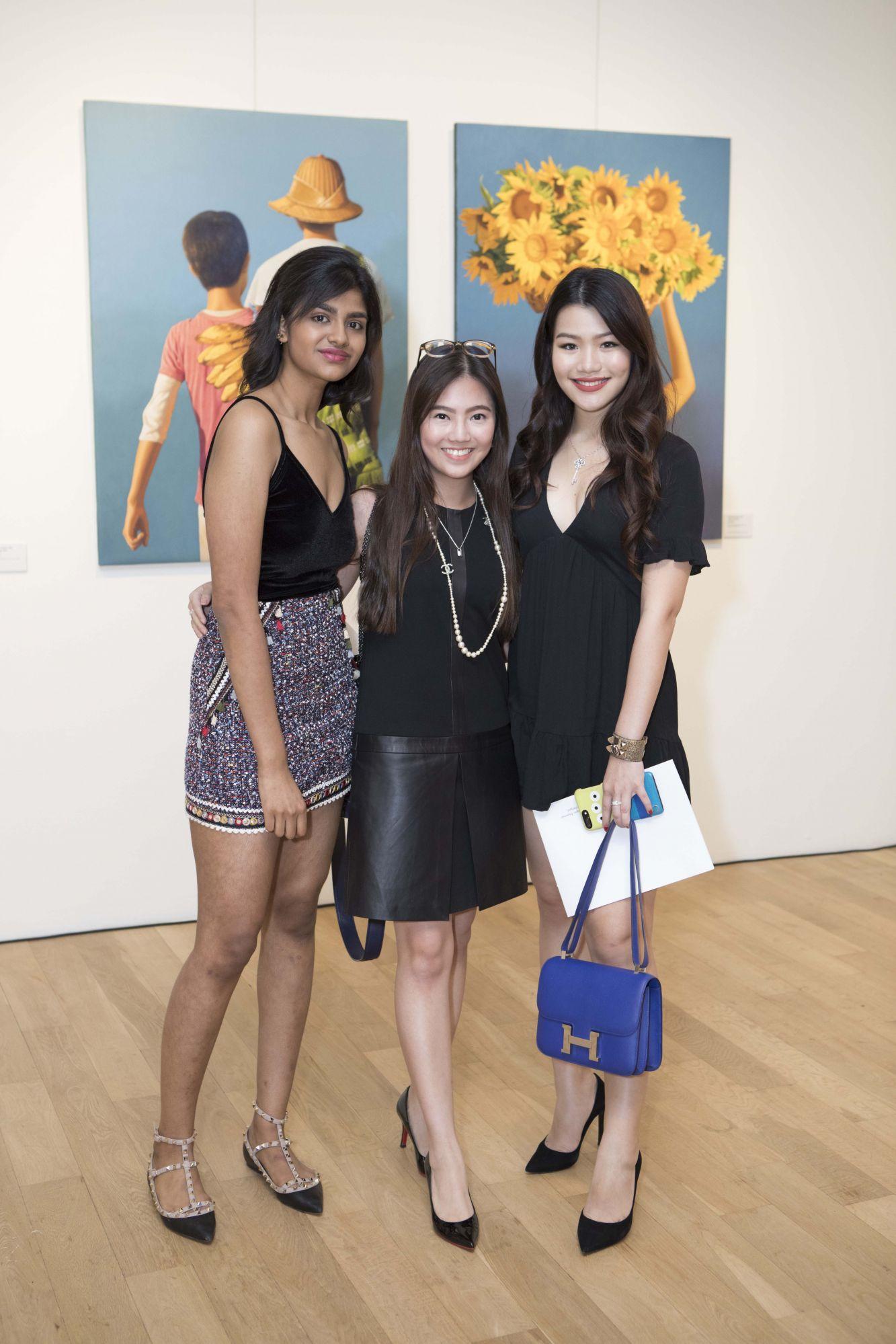 Shamita Veeraputeran, Vanessa Ng, Adeline Teo