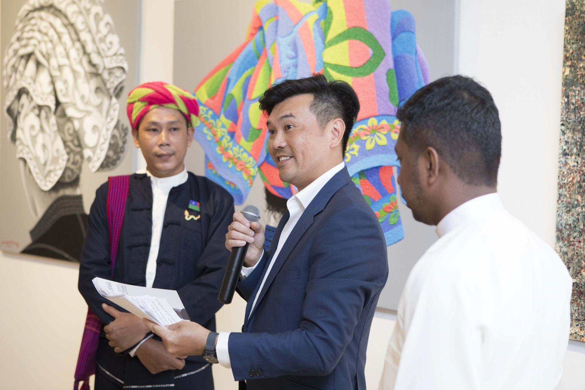 Moe Myint Zaw, Gerald Lee, Zin Min
