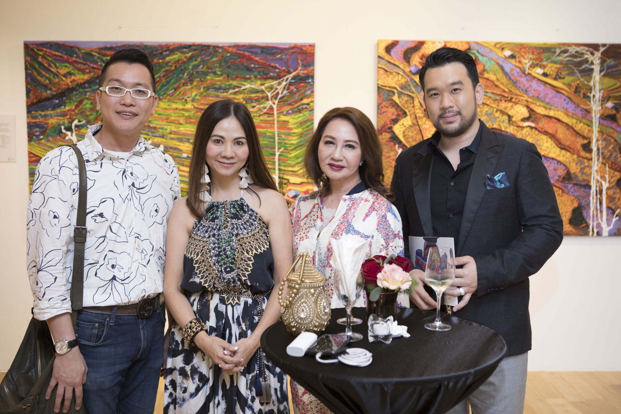 Dax Lye, Jacelyn Lai, Maria See, Richard Mok
