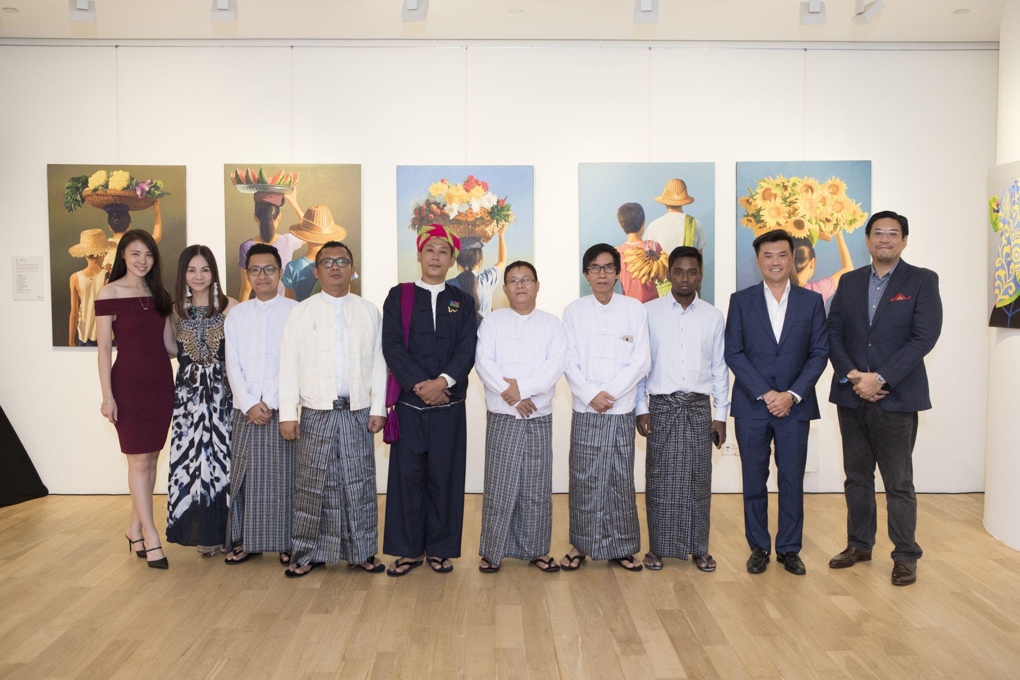 Jasmine Foo, Jacelyn Lai, Ngwe Phyoe, Byardate, Moe Myint Zaw, Ngwe Aung, Kyi Hlaing Aung, Gerald Lee, Danny Tan