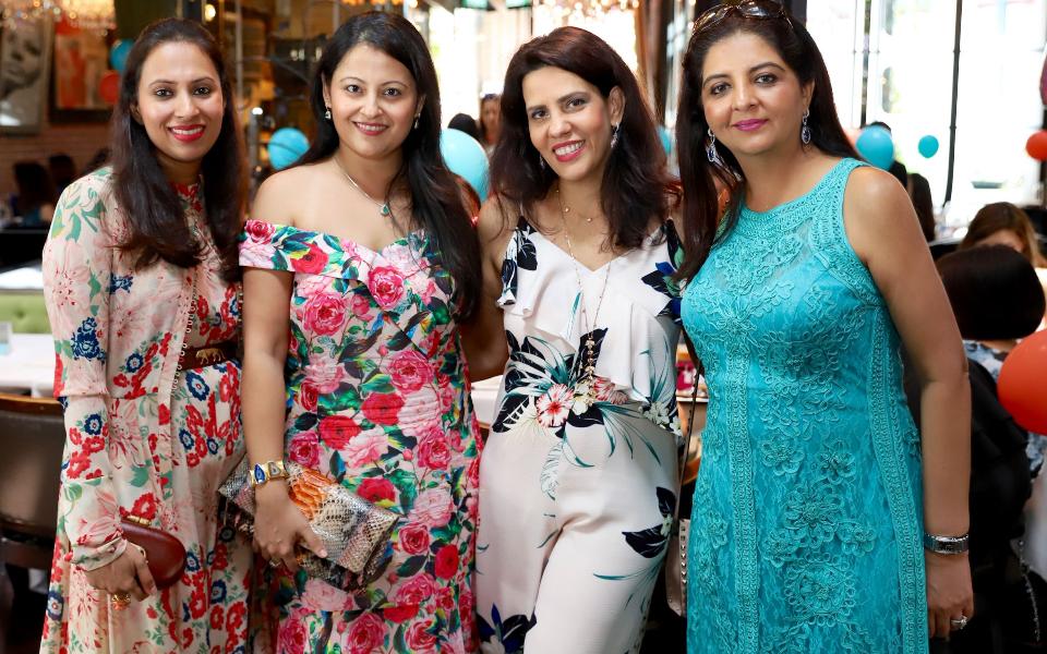 Shruti Hora, Ayesha Raj, Sara Taseer, Varsha Chawla