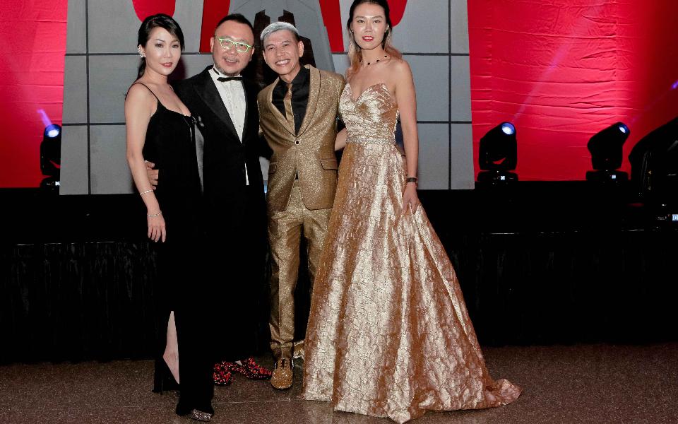 Elaine Lim-Chan, Chan Kok Weng, Alex Low, Angela Ngoh