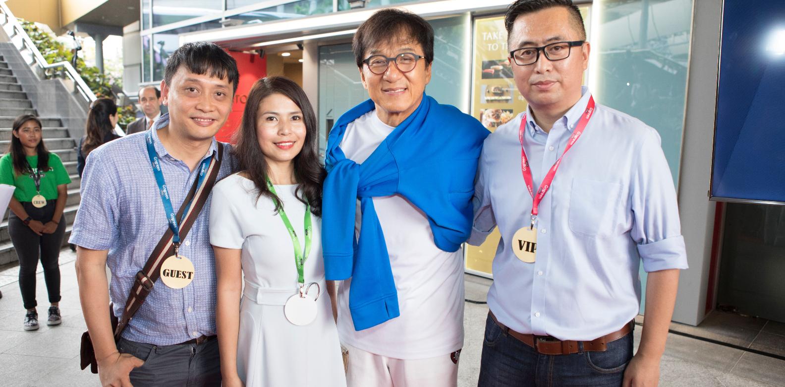 Chan Kwai Sum, Marilyn Lum, Jackie Chan, Lufeng Gao