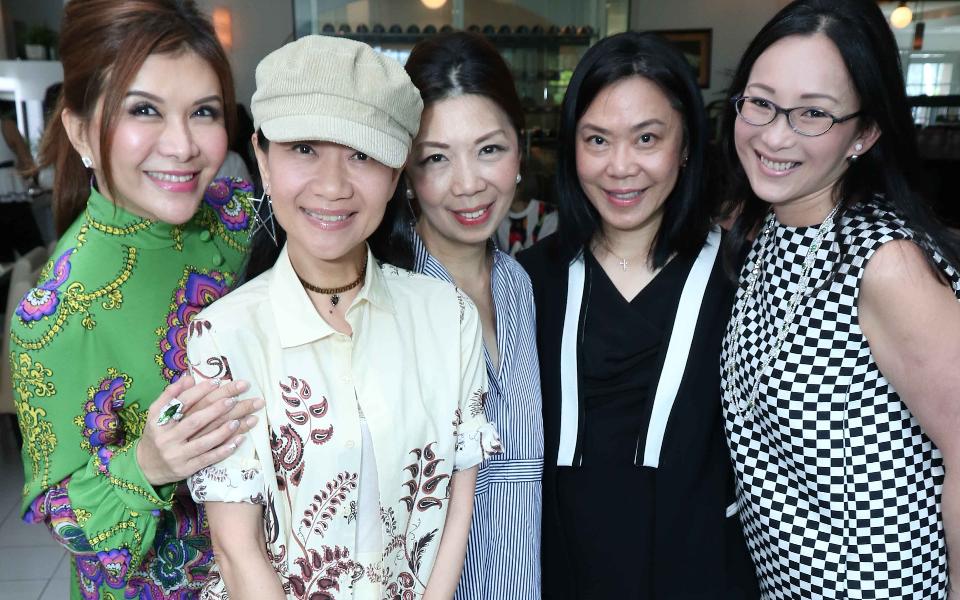 Belinda Chua, Dana Cheong, Kitch Lum, Ann Tan, Caroline Heah