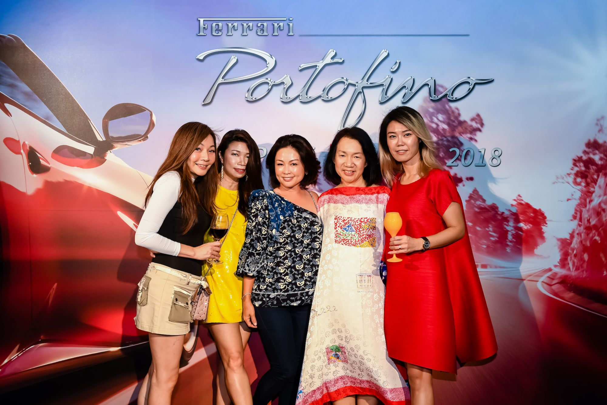Stella Lee, Lucky Cheok, Vanessa Yeo, Michelle Lee, Angela Ngoh