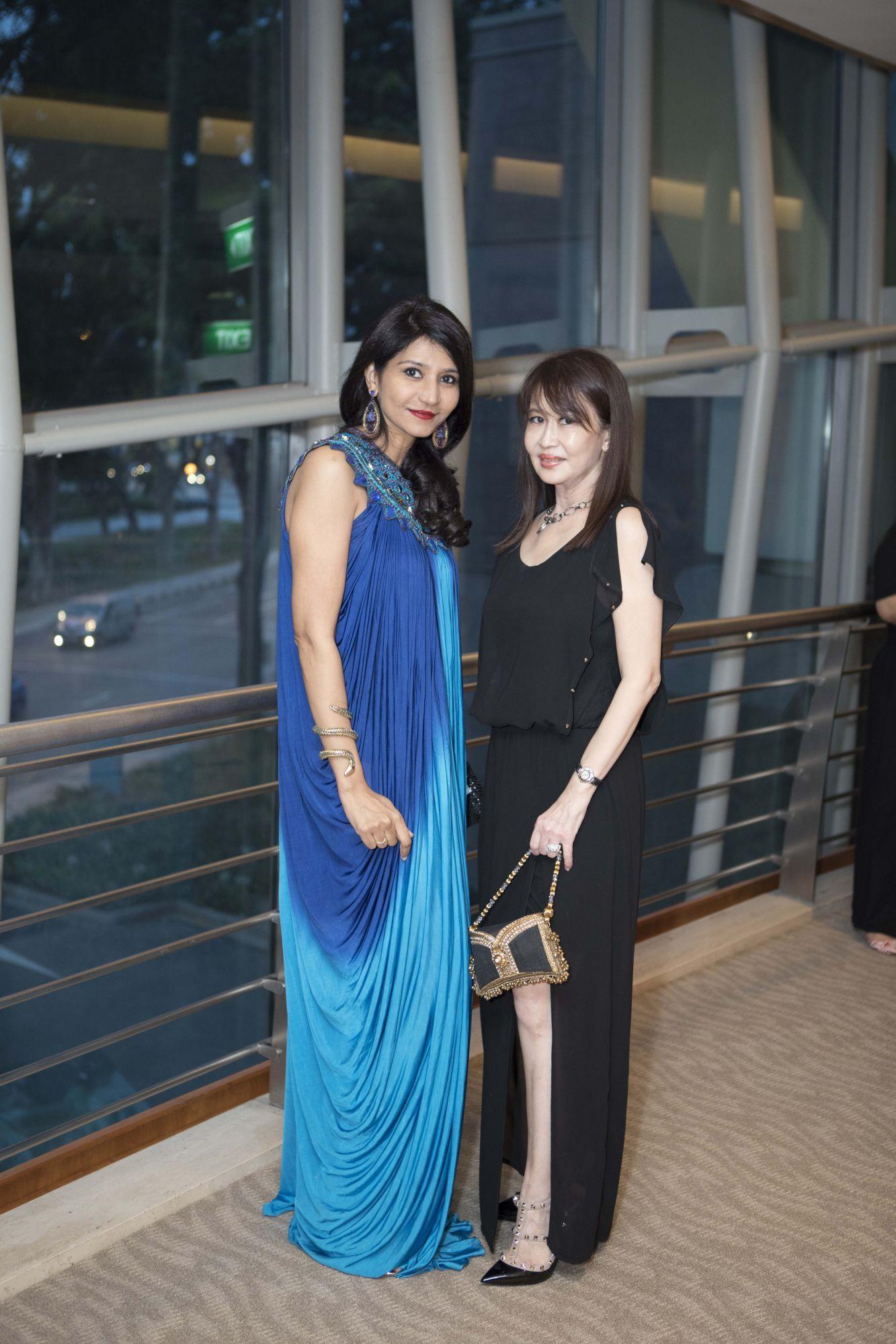 Manju Chandran, Evelyn Sam