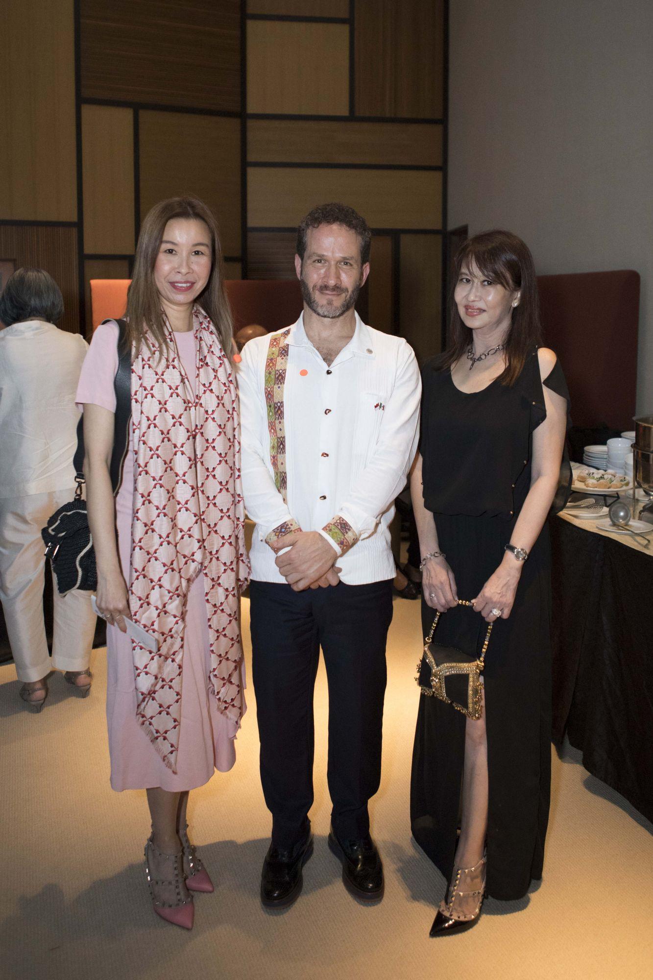 Stephanie Tay, Nathan Wolf Lustbader, Evelyn Sam