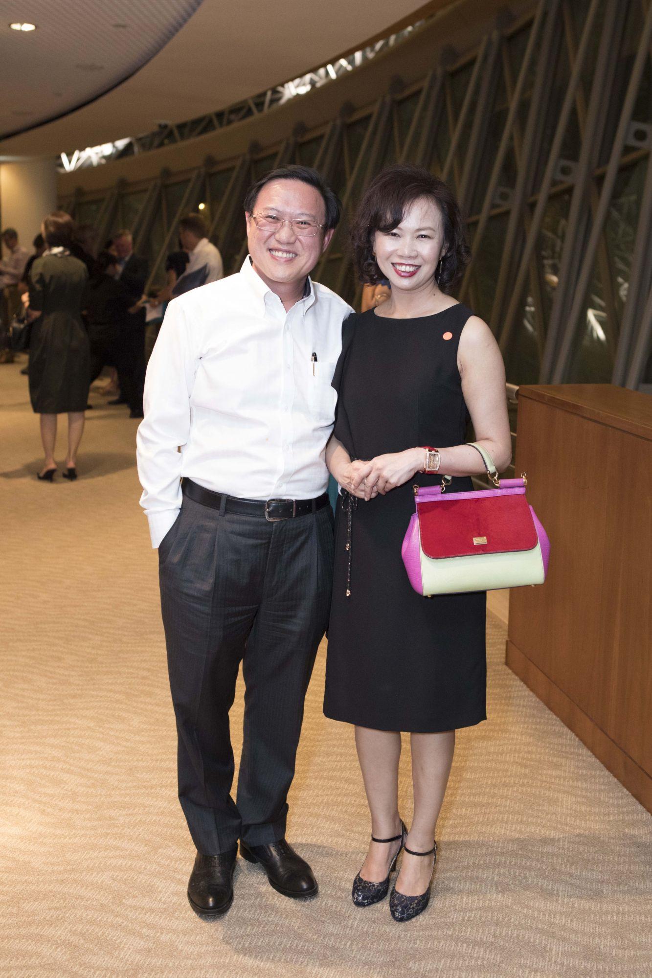 Steven Luk, Shirley Goh