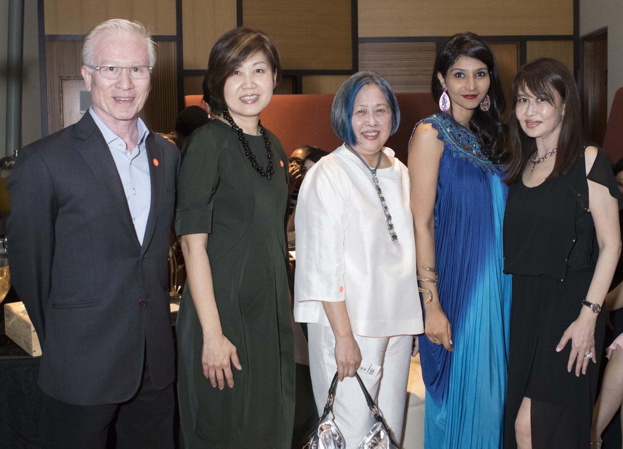 Arthur Fong, Hani Fong, Ling Ai Ee, Manju Chandran, Evelyn Sam