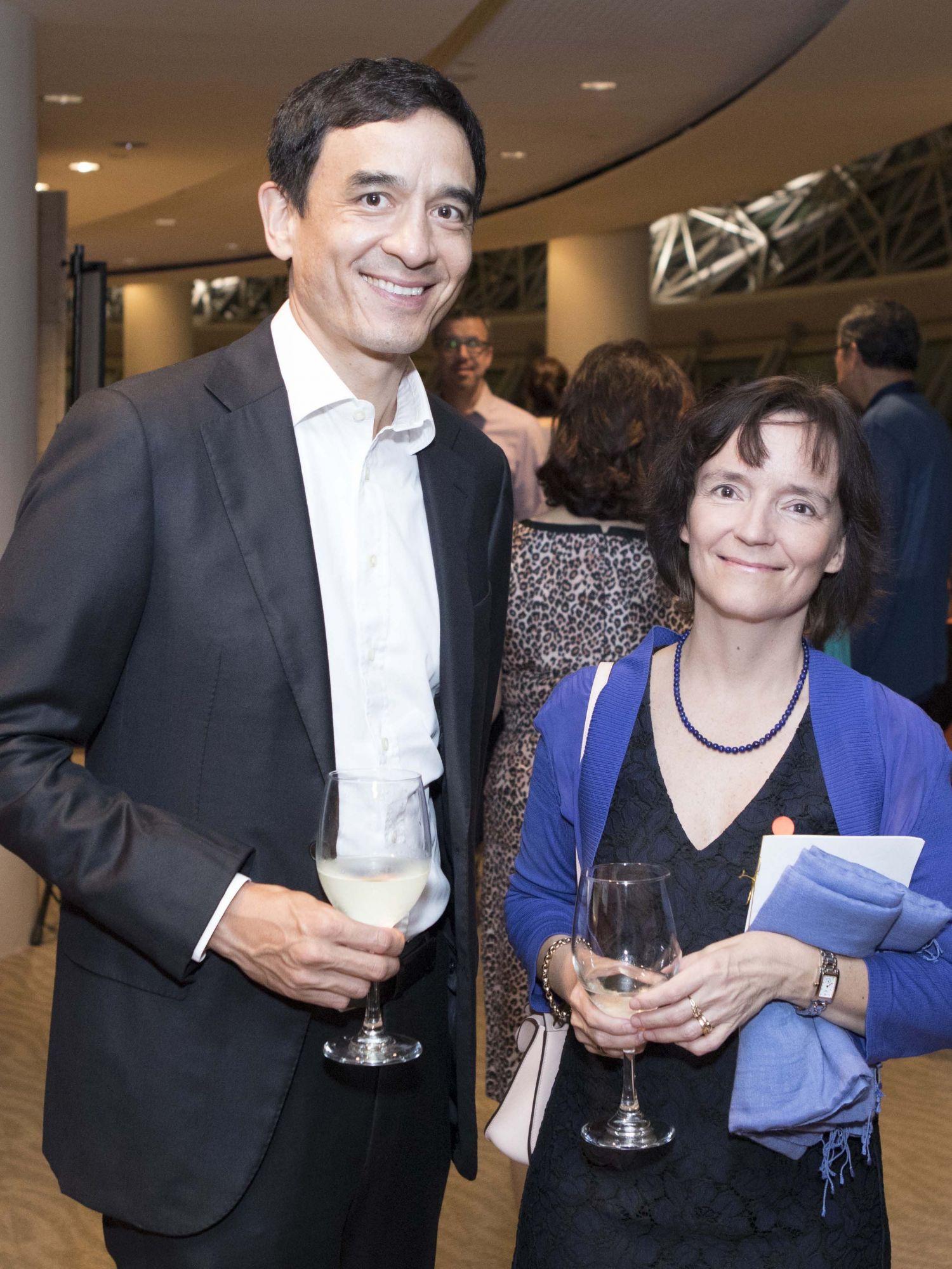 Andreas Sohmen-Pao, Anita Nergaard