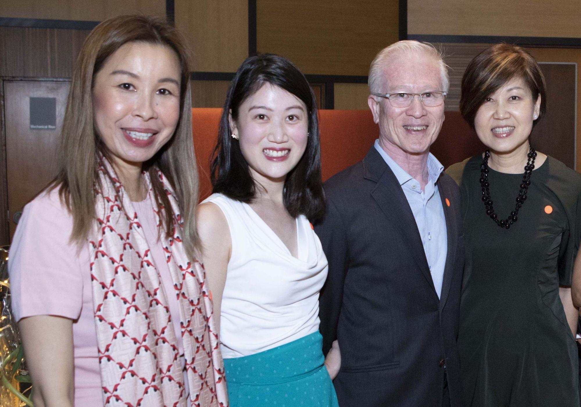 Stephanie Tay, Elizabeth Fong, Arthur Fong, Hani Fong
