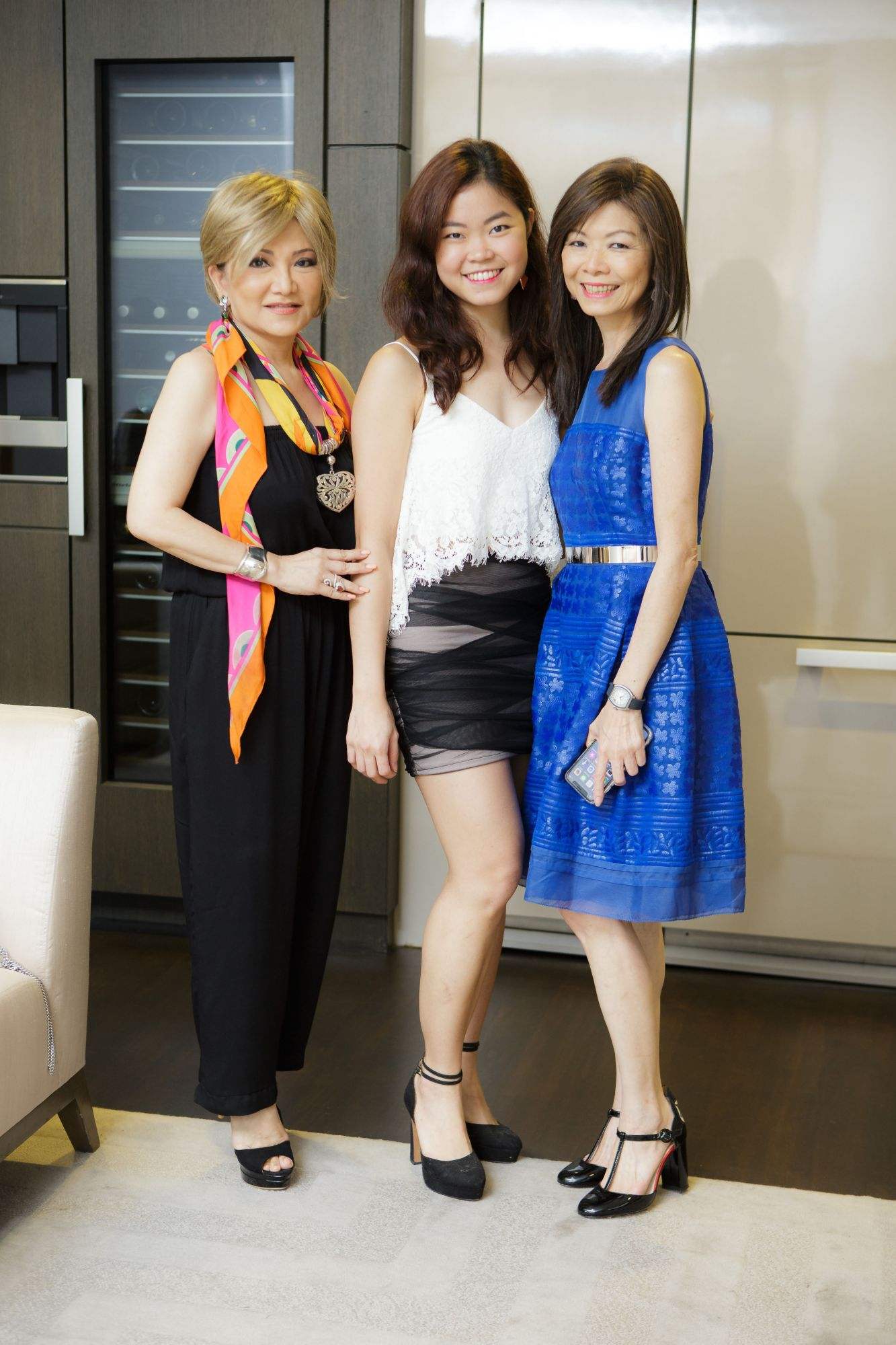Audrey Mico, Cheryl Cheong, Dolly Cheong