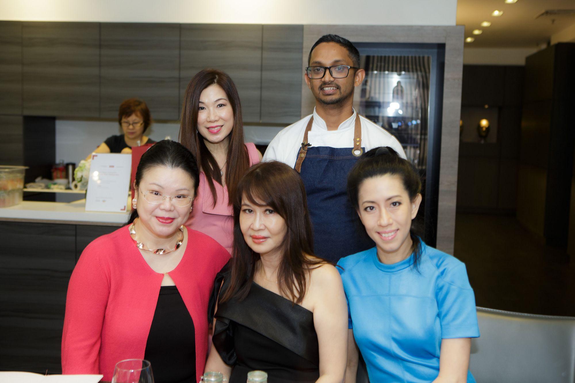 Susan Peh, Rishi Naleendra, Lam Min Yee, Evelyn Sam, Grace Chong-Tan