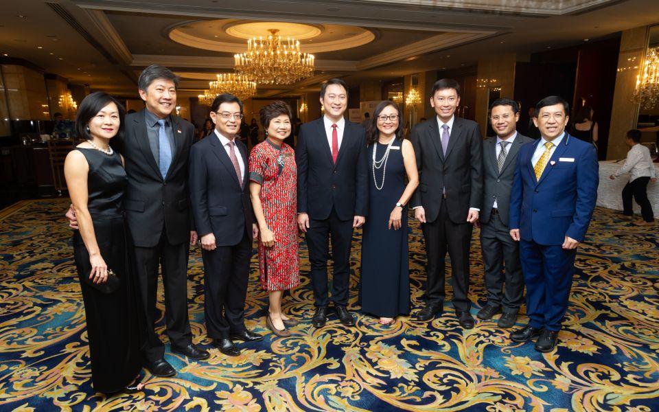 Michelle Ng, Ng Chee Meng, Heng Swee Keat, Teo Poh Yim, Lam Pin Min, Janet Chong, Chee Hong Tat,  Desmond Lee, Michael Lim