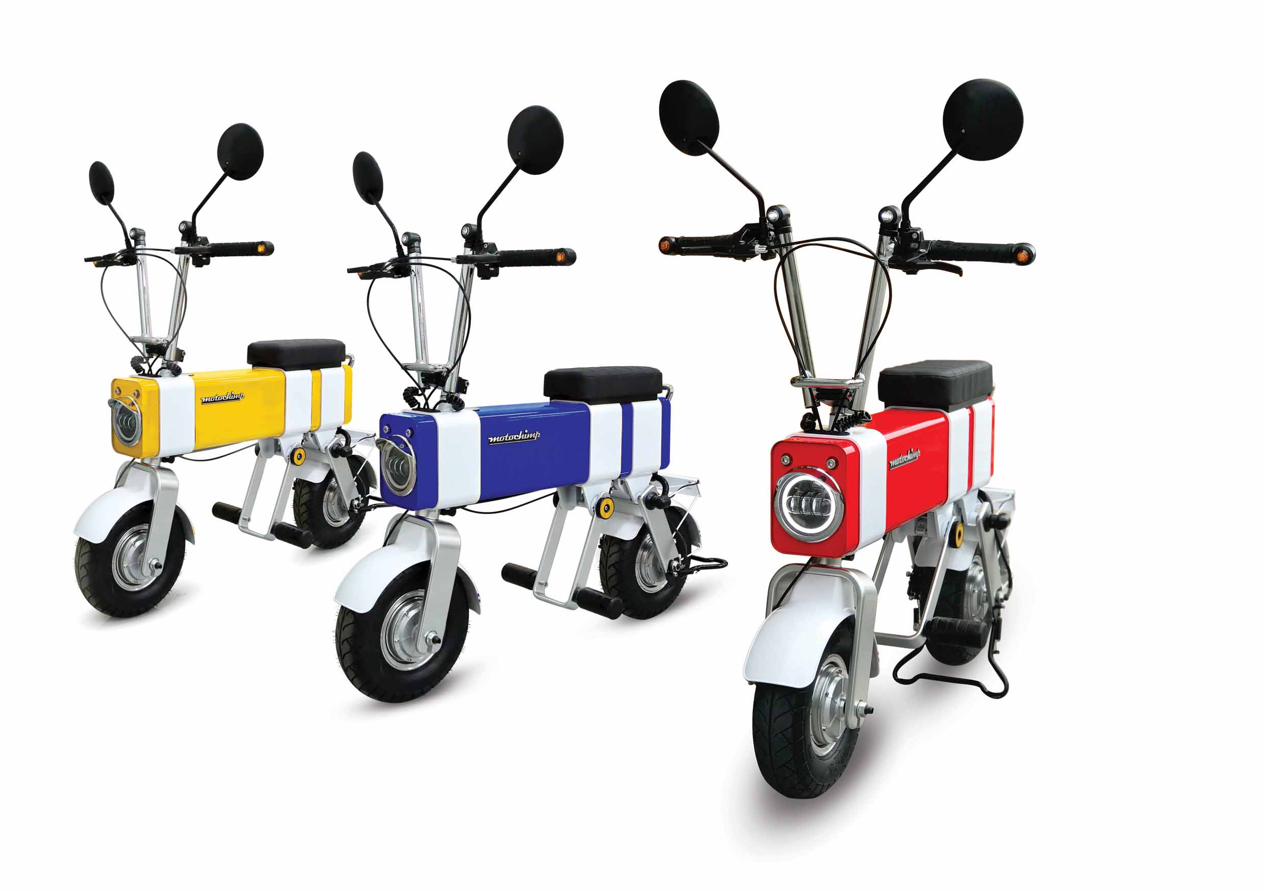 The Motochimp scooter is another of Vanda Electrics' innovations, and is being sold in Japan, China and Singapore