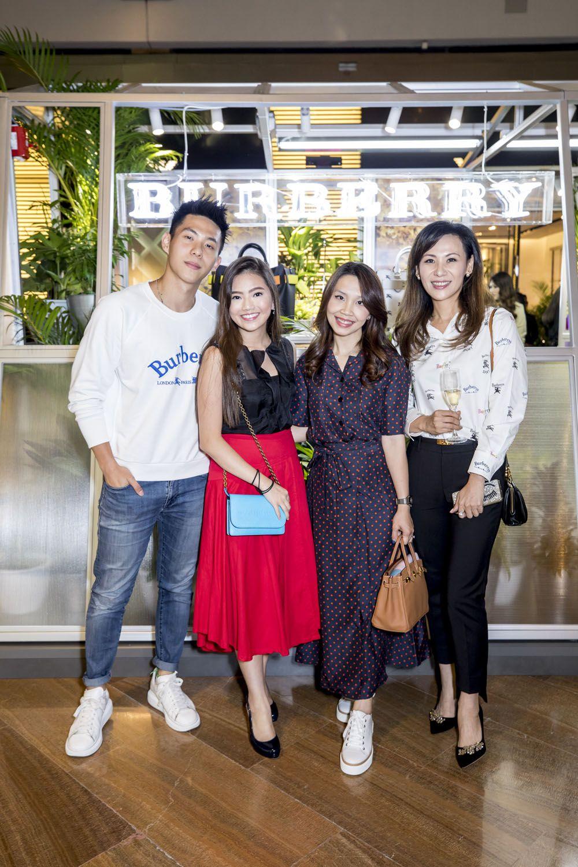 Nicholas Huang, Vanessa Ng, Jacqueline Wang, Carol Shieh