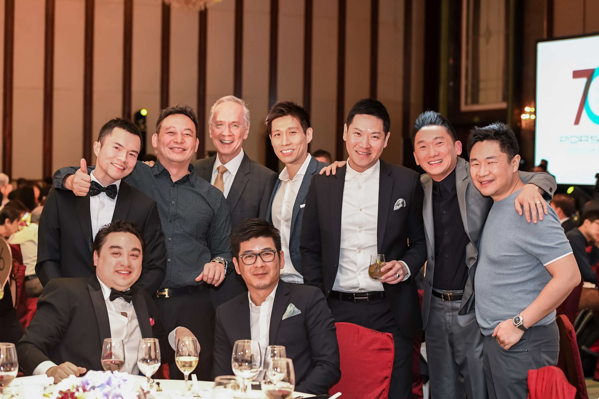 Jim Man Kit, Gavin Sung, Kelvin Liu, Lawrence Chin, Algean Tan, Douglas Chia, Jeremy Soh, Lee Chin Ming, Lim Yi Tee