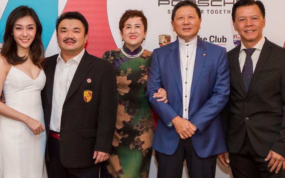Caryn Fung, Derrick Lim, Alice Teh, Jason Low, Derek Cheong