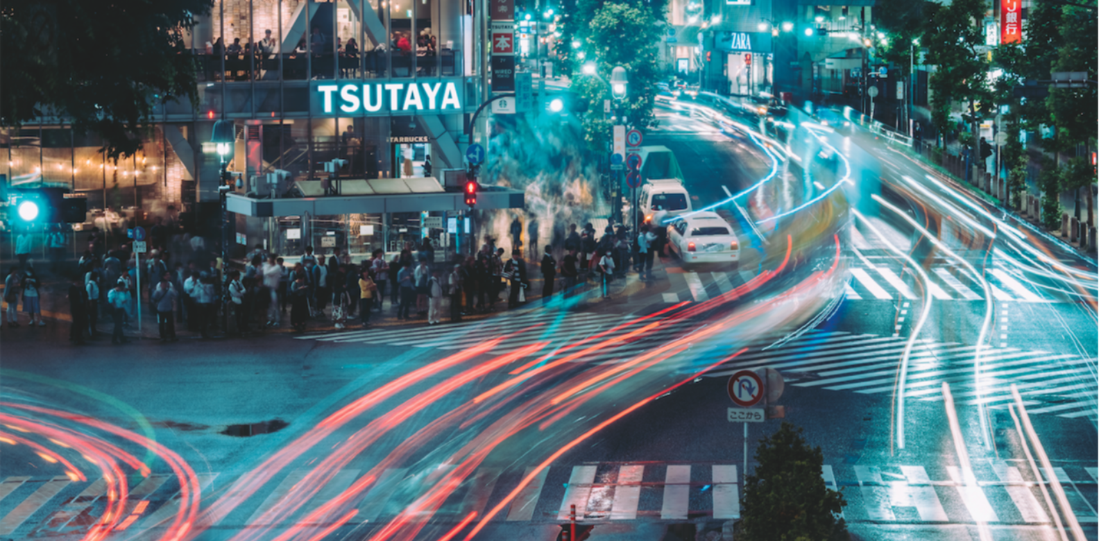 Shibuya Crossing in Tokyo during the night GFX50S by William Chua