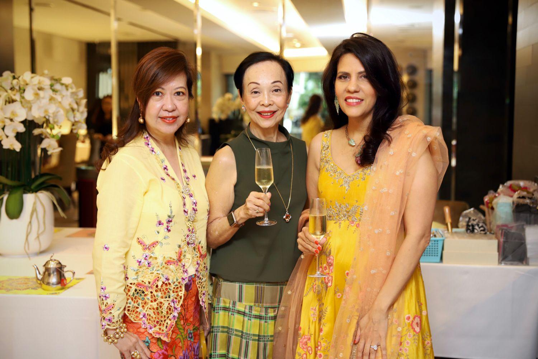 Josephine Wong, Helene Yip, Sara Taseer
