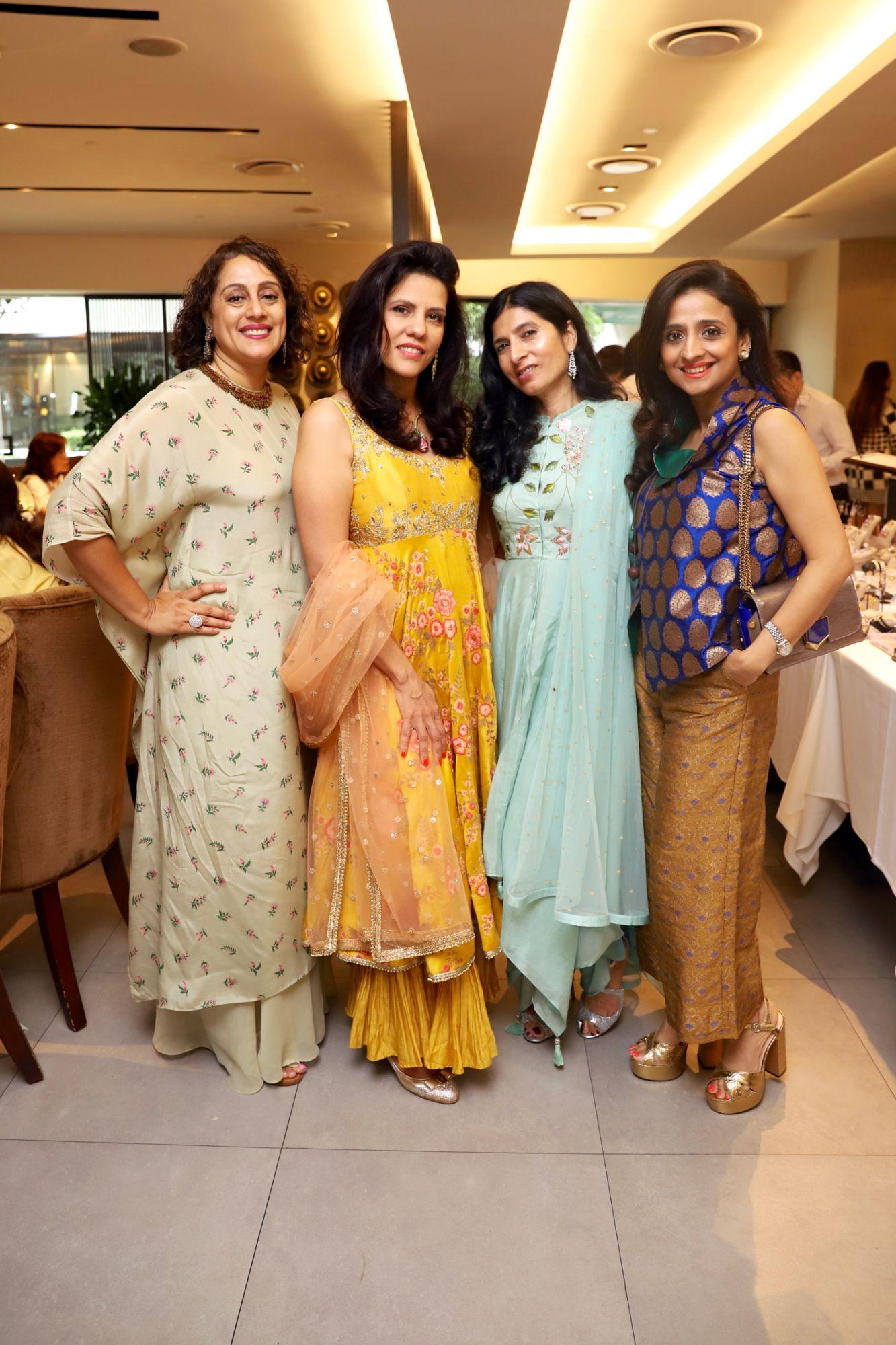 Shonali Sardesai, Sara Taseer, Sunita Malek, Samia Khan