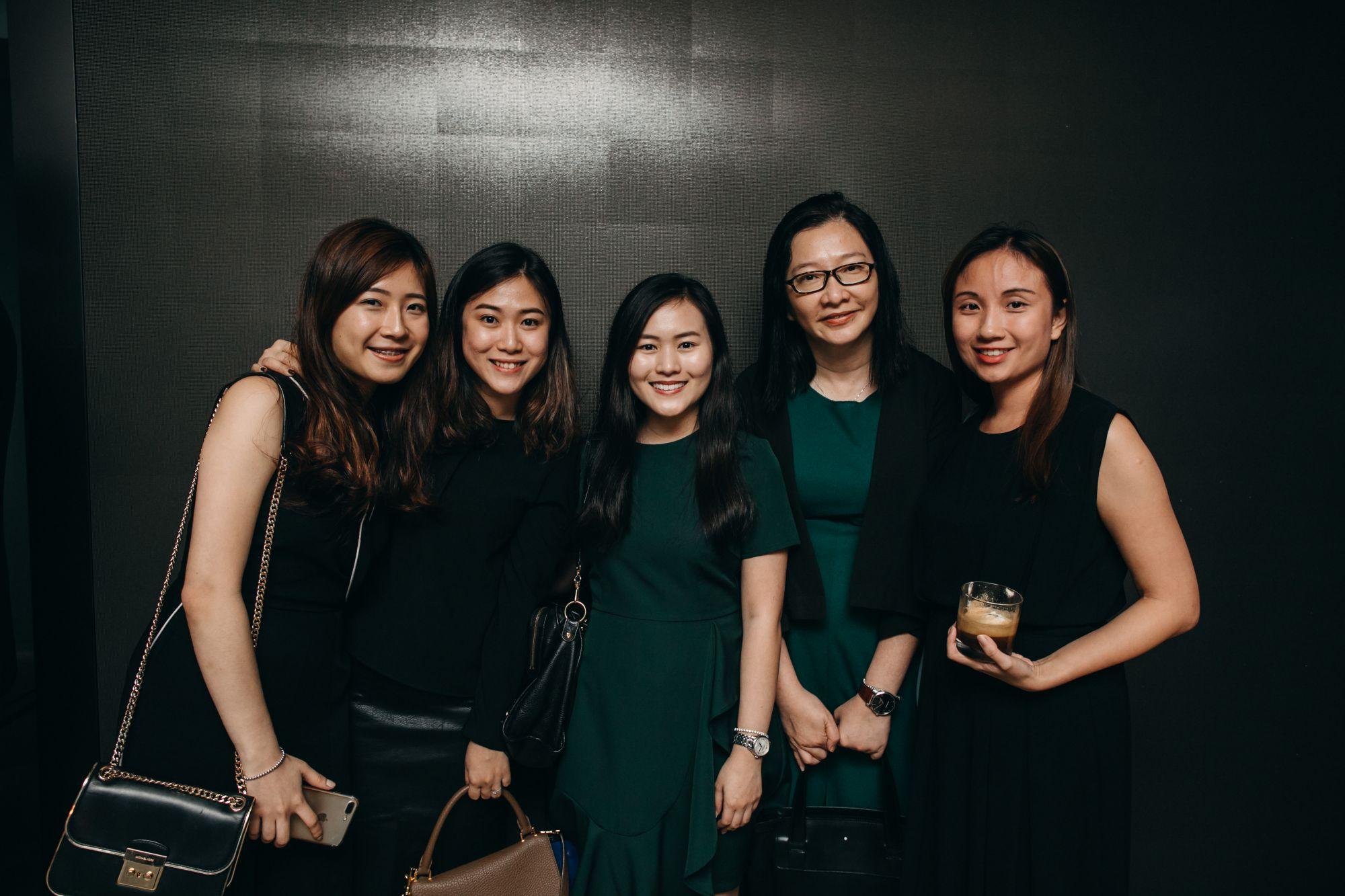 Felicia Lim, Lily Suryani, Luanne Ooi, Jerrica Goh, Jane Chen