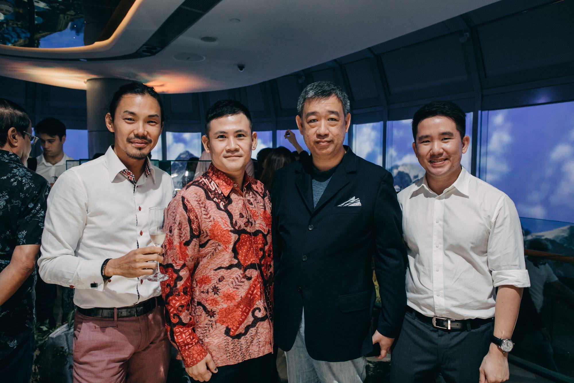 Mike Yuen, Andy Chua, Willis Liu, Simon Neo