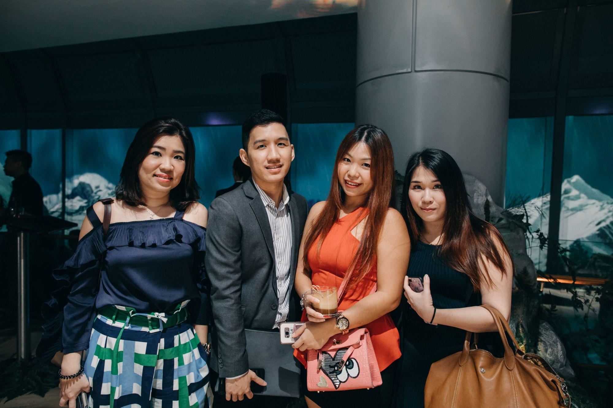 Shirley Chan, Bryan Goh, Kes Koh, Kimberlyn Loh