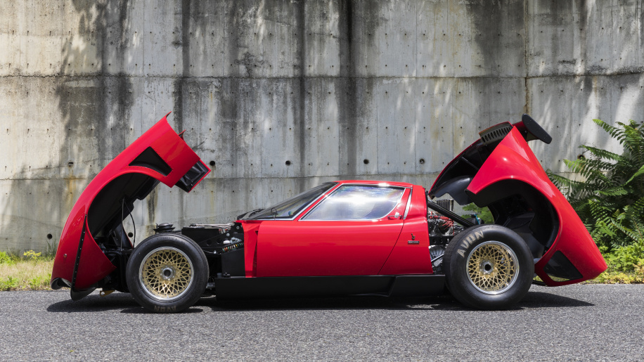 Restored 1978 Lamborghini Miura SVR (Photo: Courtesy of Lamborghini Polo Storico)