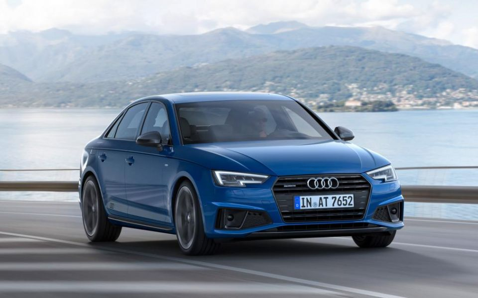 Front view of the 2019 Audi A4 (Photo: Courtesy of Audi)