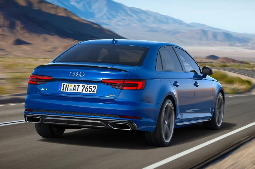Back view of the 2019 Audi A4 (Photo: Courtesy of Audi)