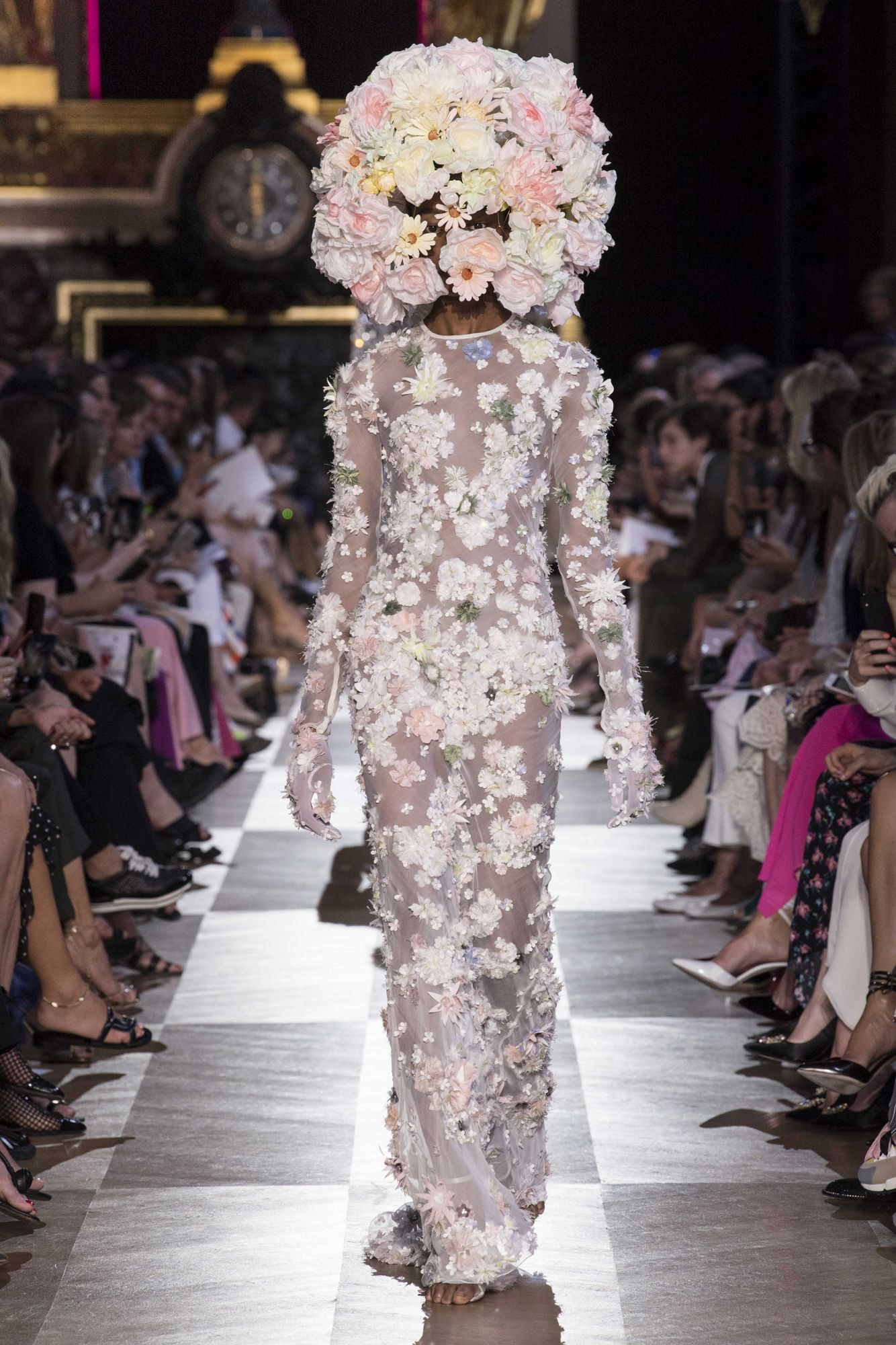 Photo: Courtesy of Schiaparelli; only for fall/winter 2018 Haute Couture