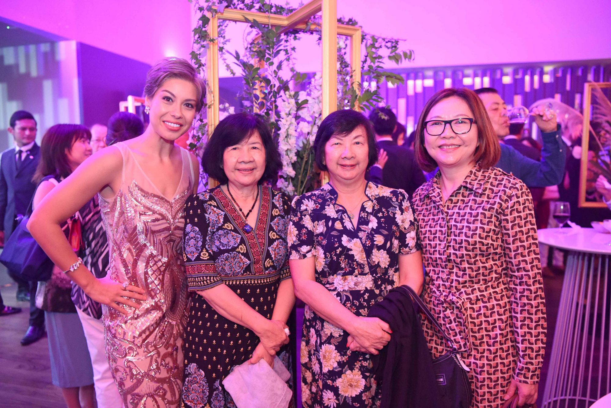 Nikki Muller, Lee Yok Leng, Lee Yoke Ying Maureen, Virginia Yow