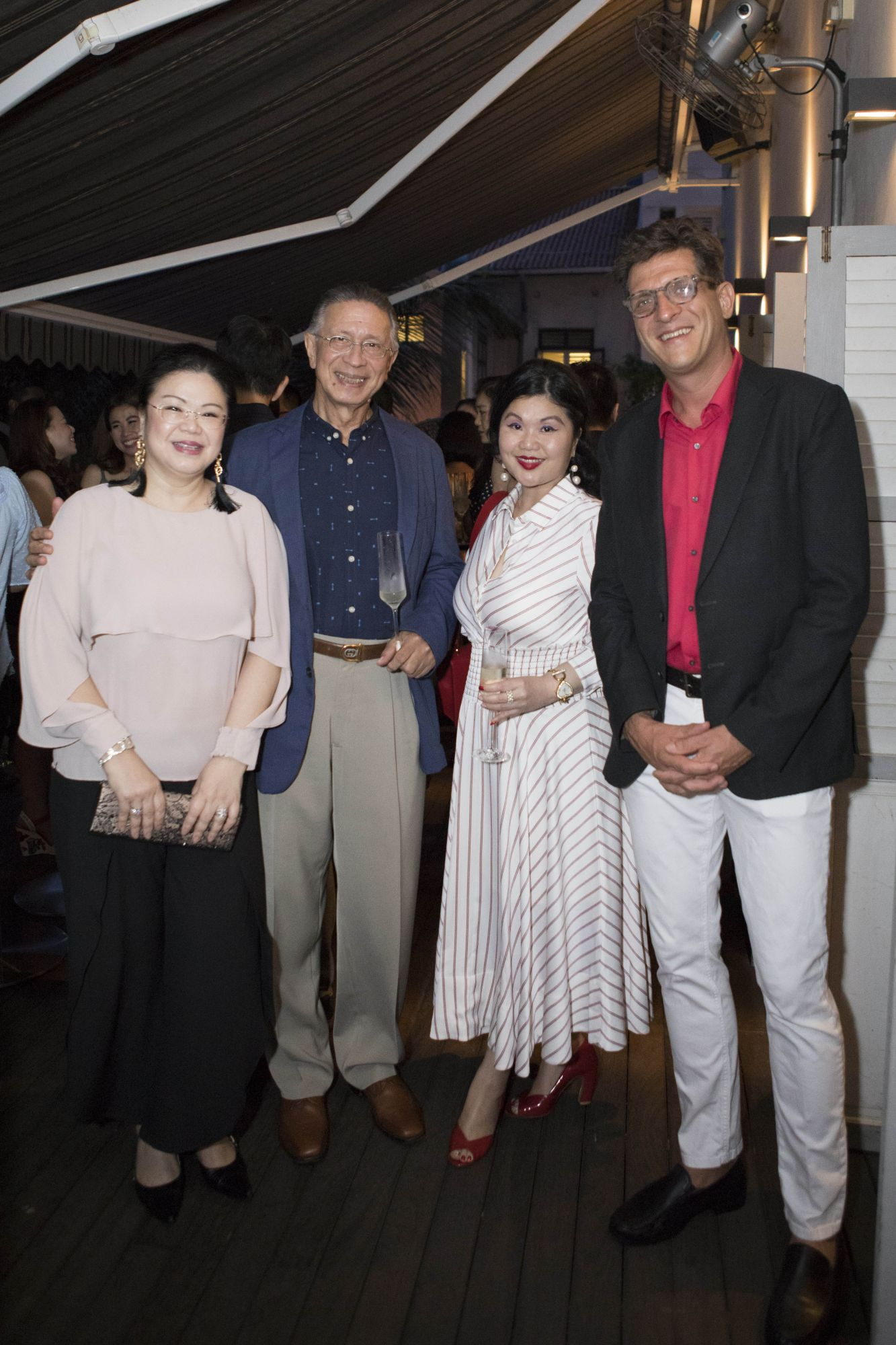 Lam Min Yee, Lawrence Basapa, Lam Tse Yi, Hannes Hentze