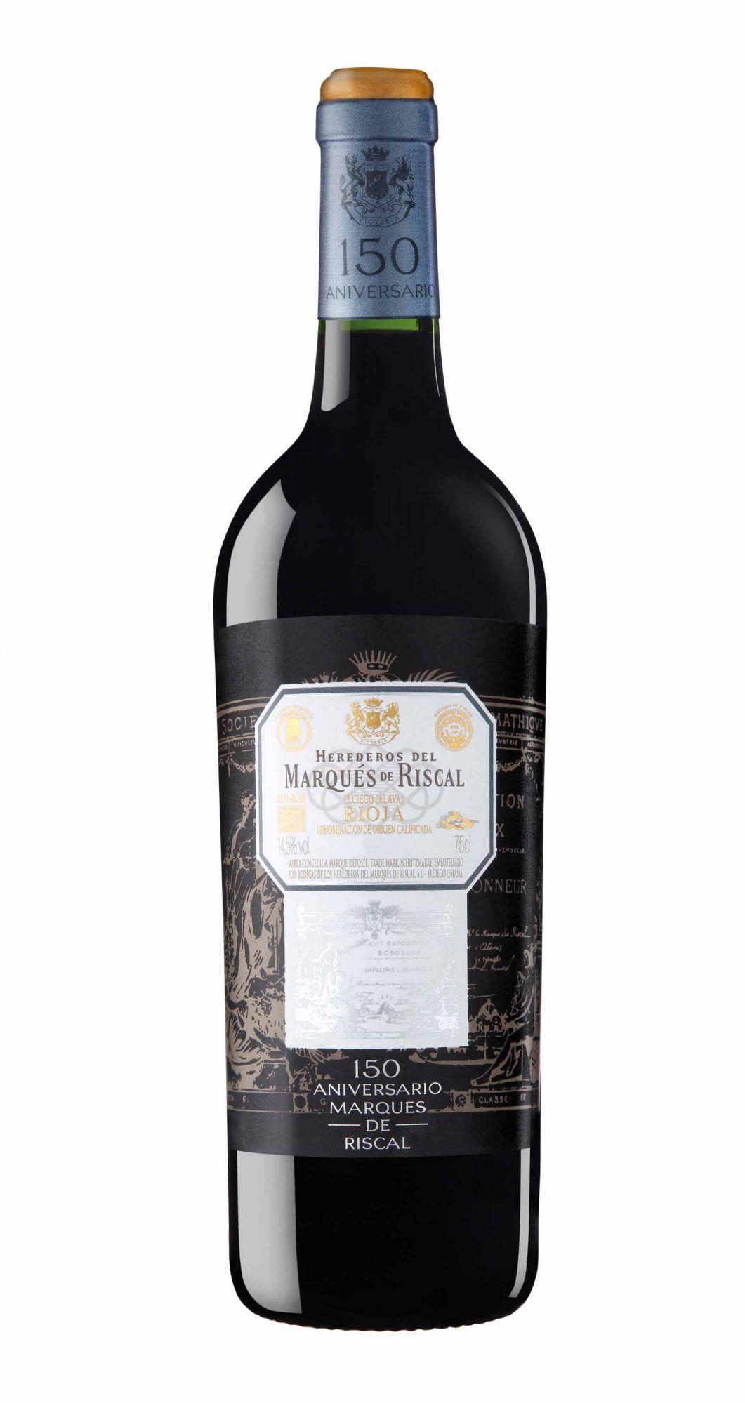 Marqués de Riscal Rioja 150 Anniversario Gran Reserva 2010, Spain