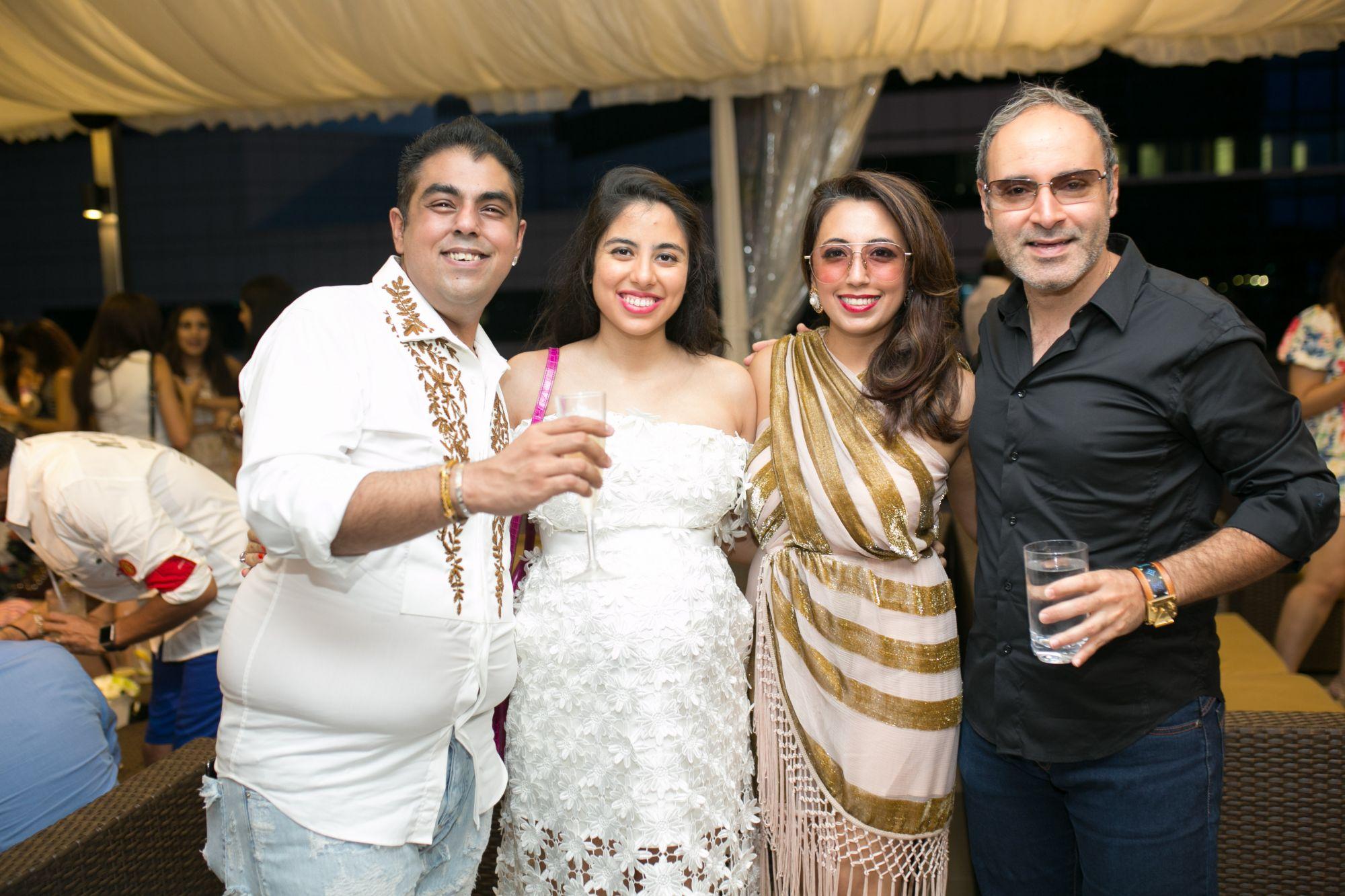 Bobby Hiranandani, Shaila Hiranandani, Dimple Aswani, Sameer Aswani