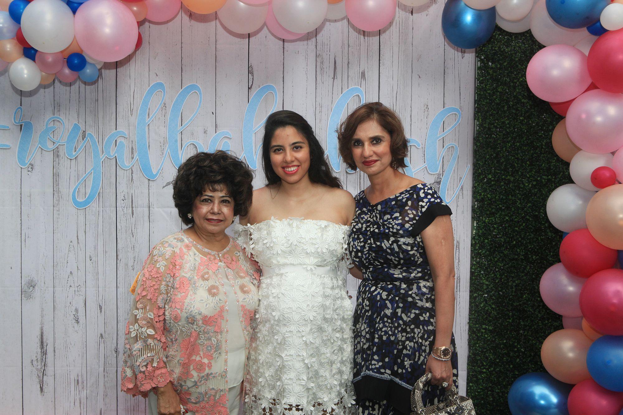 Asha Hiranandani, Shaila Hiranandani, Mona Tanwani