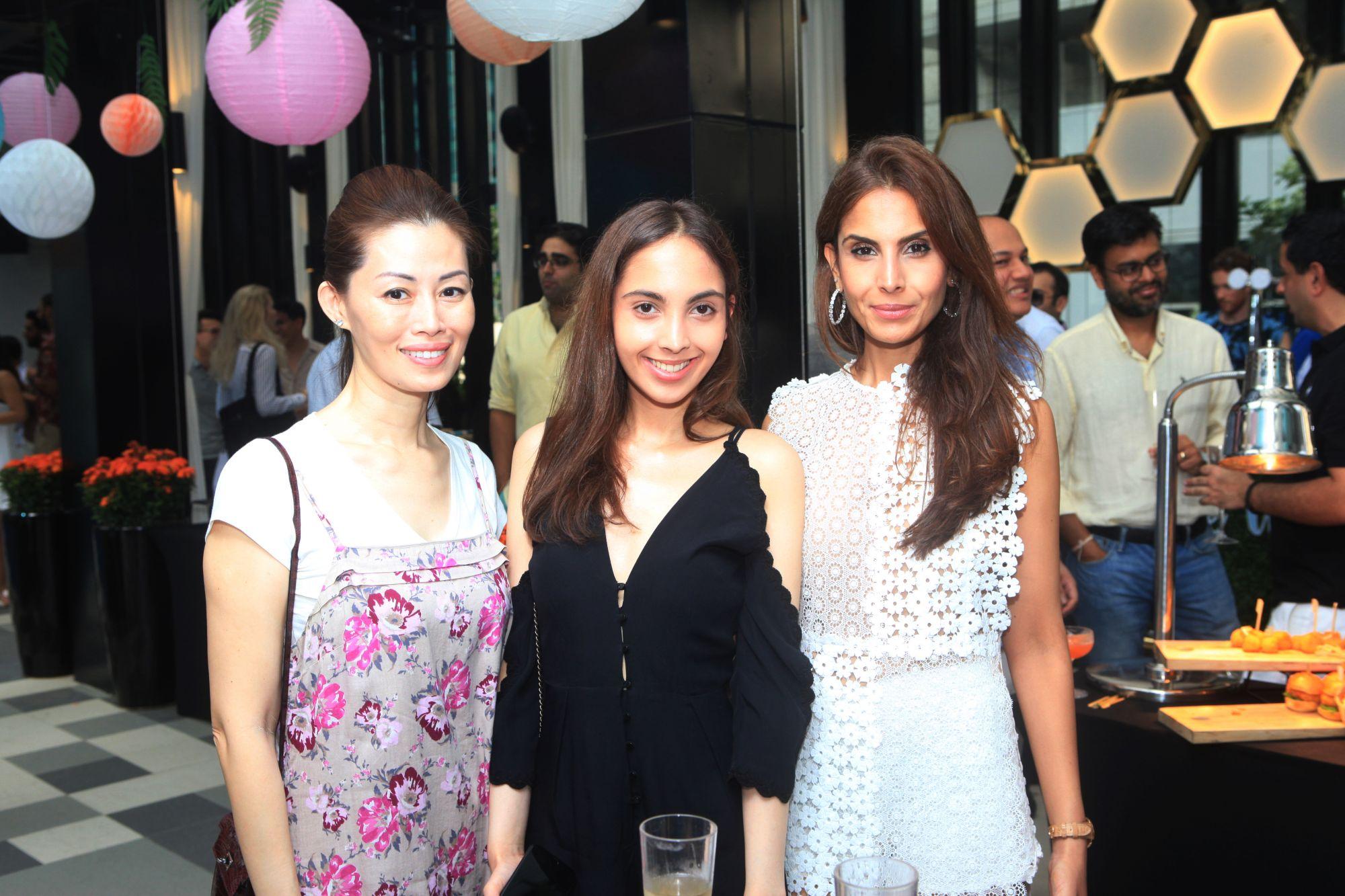 Serene Tan, Lalisa Srichawla, Vinita Srichawla